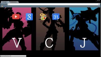 jinx theme for google chrome jinx chrome themes themebeta