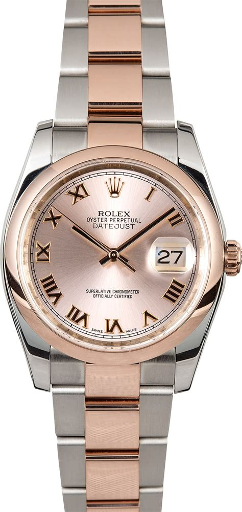 Rolex Oyster Silver Rosegold rolex datejust 116201 gold oyster