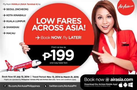 airasia promo airasia promo kota kinabalu others at p199 base fare
