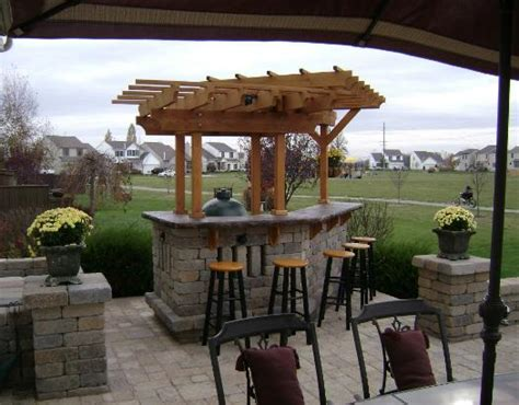 how to build an outdoor bar bars designs for