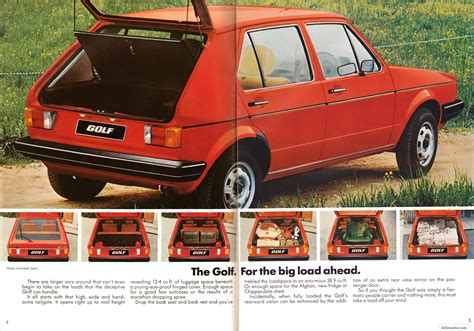 volkswagen golf 1980 ausmotive com 187 volkswagen golf brochure 1980