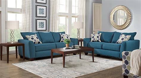 brown and turquoise rug living room
