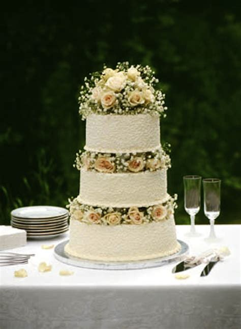 Diy Wedding Cake Simple by Diy Wedding Cake