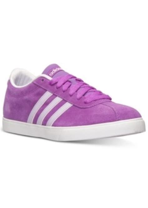 adidas adidas s courtset casual sneakers from finish line shoes shop it to me