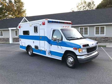 Ford Synus Mobile Command Center by Ford E 350 1992 Emergency Trucks