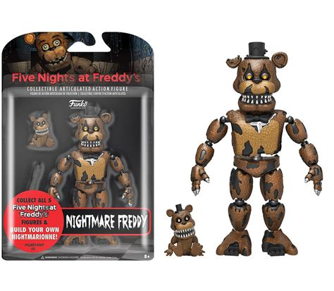 5 nights at freddy s toys five nights at freddy s nightmare freddy figure