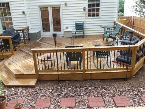 Patio Decks Designs Pictures Ground Level Deck Designs Home Design Ideas