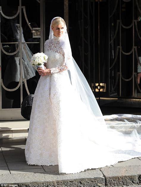 nicky hilton wedding dress top 10 most famous best hollywood celebrity wedding dresses