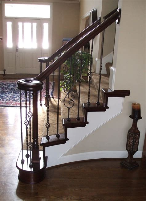What Is Refacing Kitchen Cabinets replacement staircase and spindles kc wood