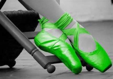 green ballet slippers fluorescent green ballet shoes ballet