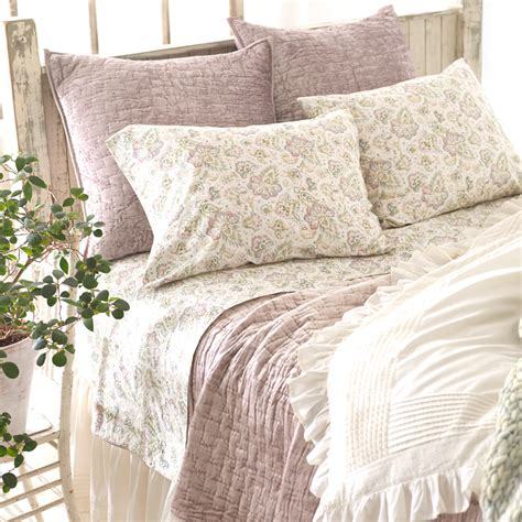 Pine Cone Hill Quilt by Matte Velvet Dusty Plum Quilt By Pine Cone Hill Rosenberryrooms