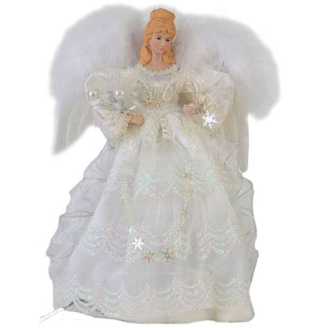 battery operated angel tree toppers tree topper