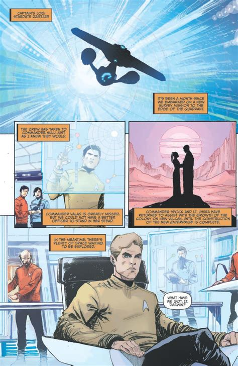 trek boldly go vol 2 books kirk and crew get prime directed in trek boldly go