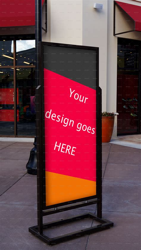 item display dimensions publicity stand roll up dimension mock up by czoborraul