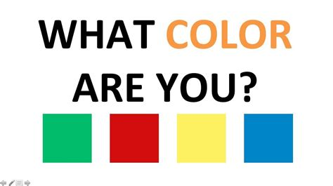 what color is your personality test personality test what color are you the