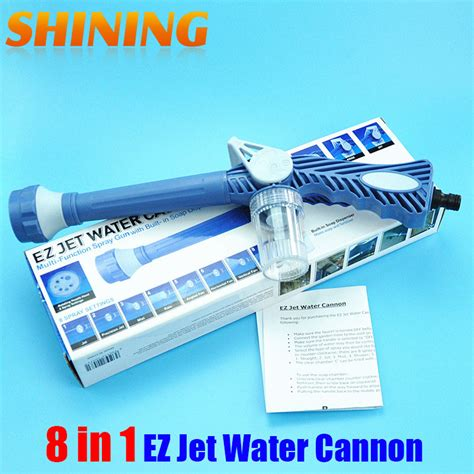 Ez Jet Water Cannon Connectors blue garden sprayer car washing washer plastic garden hose