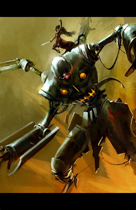 7 Awesome Robot Personalities by Best Collection Of Robots Illustrations 49 Artworks