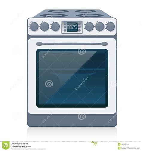 imagenes libres cocina estufa de cocina aislada en blanco vector fotos de