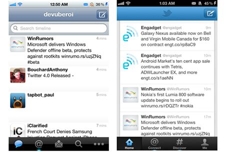 twitter iphone layout hands on with new twitter for iphone