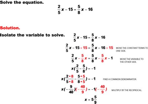 Solving Multi Step Equations Worksheet by Algebra Solving Multi Step Equations Worksheets