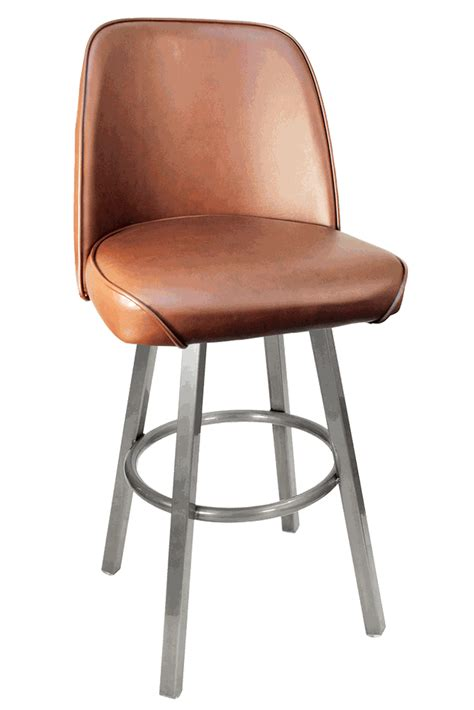 commercial bar stools gladiator basic brown commercial bucket seat bar stool on