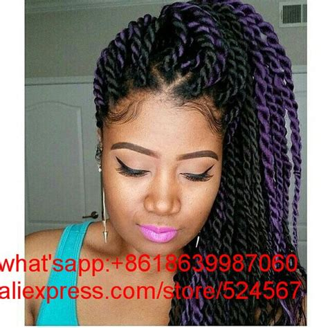 ombre individual braids 12 quot inches two strand 12 twists havana mambo crochet