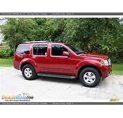 2006 Nissan Pathfinder SE 4x4 Red Brawn Pearl / Graphite