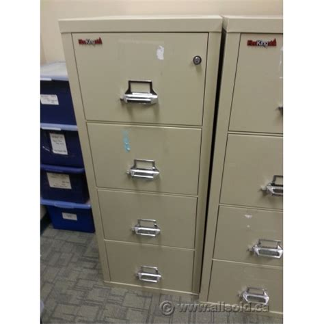 proof file cabinet fireking sand 4 drawer vertical proof file cabinet locking allsold ca buy sell used