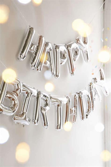 La 16 Gold happy birthday metallic silver or gold balloon kit entertaining gold balloons