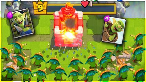 Id Clash Royale Sby 1 un deck doar cu goblini putem castiga clash royale romania