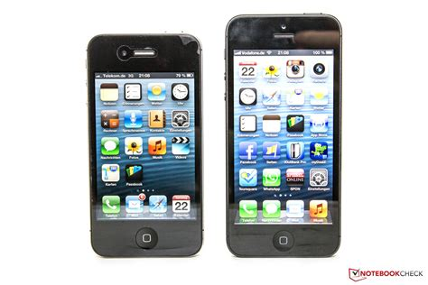 iphone 5 comparison review apple iphone 5 smartphone notebookcheck net reviews