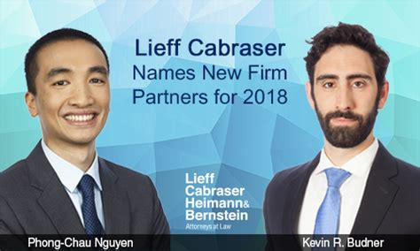 lieff cabraser names  firm partners
