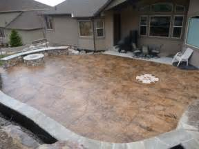 Stamped Patio Designs by Patio On Pinterest Stamped Concrete Patios Concrete
