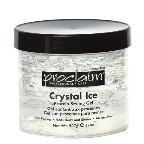 styling gel without protein proclaim crystal ice protein styling gel 10 oz