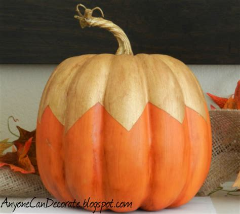 anyone can decorate pumpkin painting fall decorating ideas