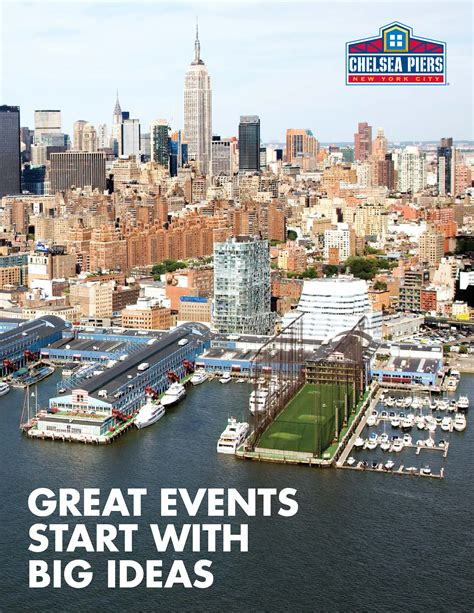 Chelsea Piers Gift Card - big event ideas start here chelsea piers chelsea piers new york ny 10011