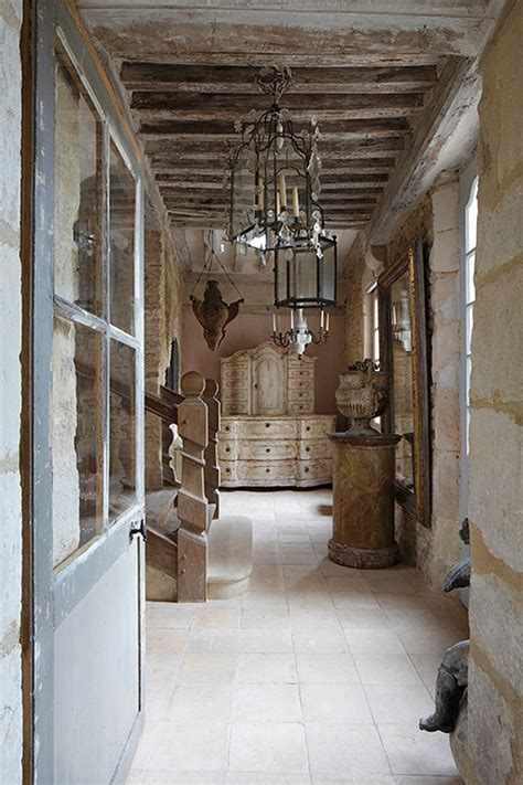 cafe de paris rustic french cottage style old wood wall interior design ideas french interiors home bunch