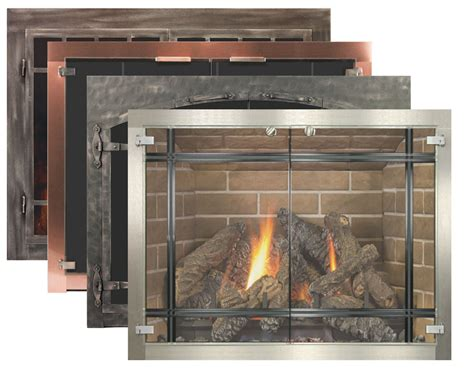 Glass Fireplace Doors by Stoll Fireplace Inc.