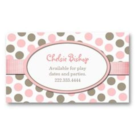 polka dot business card templates free 1000 images about polka dot business cards on