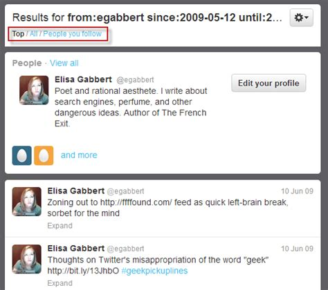 Search S Tweets Find Your Tweets How To See Your Tweet Wordstream