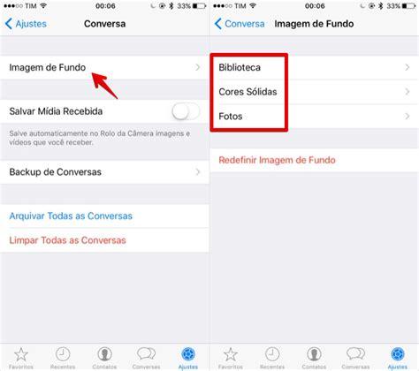 como mudar layout do iphone como mudar o plano de fundo do whatsapp do ios dicas e