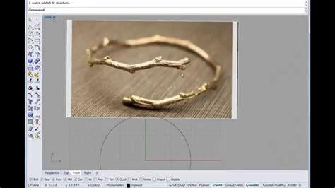 tutorial video rhino basic rhino tutorial on making an organic branch ring with
