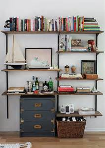 Wall Bookshelves Diy Diy Mounted Shelving Almost Makes