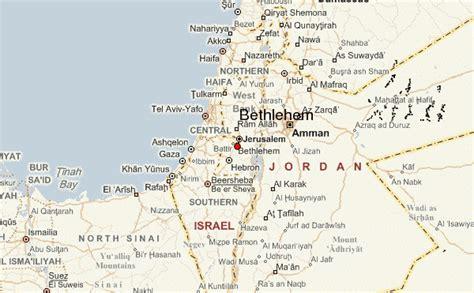 bethlehem jerusalem map bethlehem palestine location guide