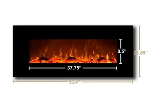 touchstone wall mounted electric fireplace