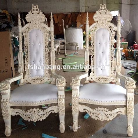 king throne chair rental detroit luxury reception carved wooden leather fabric king