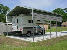 Garage For Rv Rv Carport And Garage Options Customizations And Costs