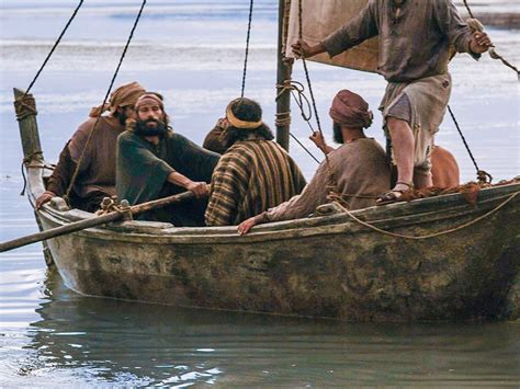 bible boat many conclude that seven of jesus disciples were