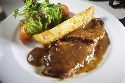 resep   membuat chicken steak brown sauce