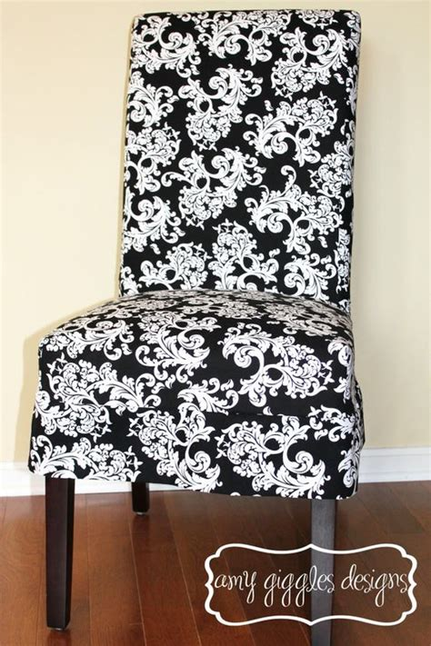 custom parson chair slipcovers custom parsons chair slip cover by amygigglesdesigns on